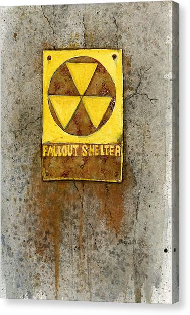 Fallout Shelter #1 Canvas Print