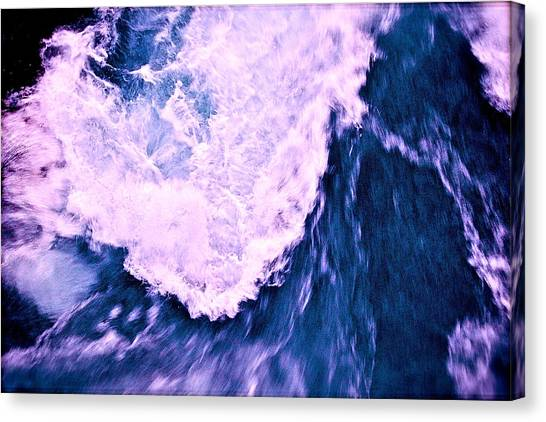 Canvas Print featuring the photograph Falls Abstract by HweeYen Ong