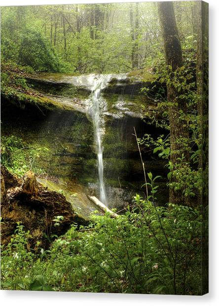 Falls For Julie Canvas Print