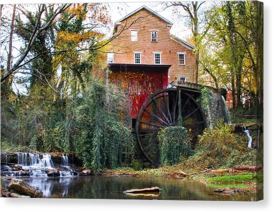 Falls Mill Canvas Print