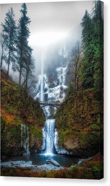 Falls Of Heaven Canvas Print