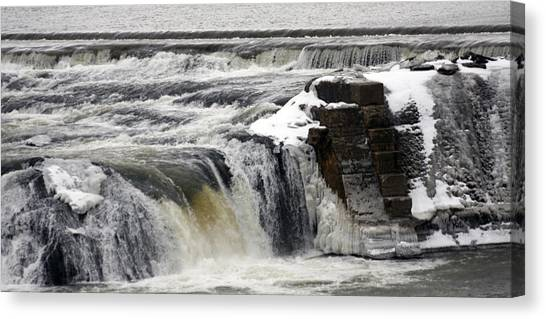 Falls Canvas Print by Valerie Wolf