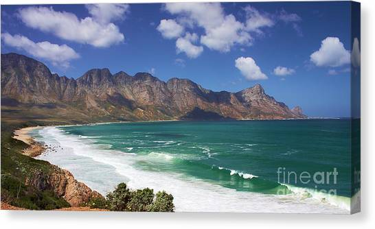 False Bay Drive Canvas Print