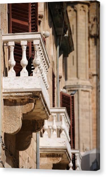 Famagusta Balconies Canvas Print