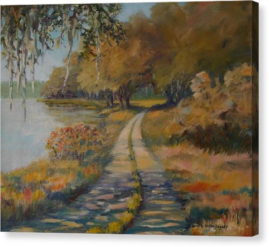 Familiar Road Canvas Print
