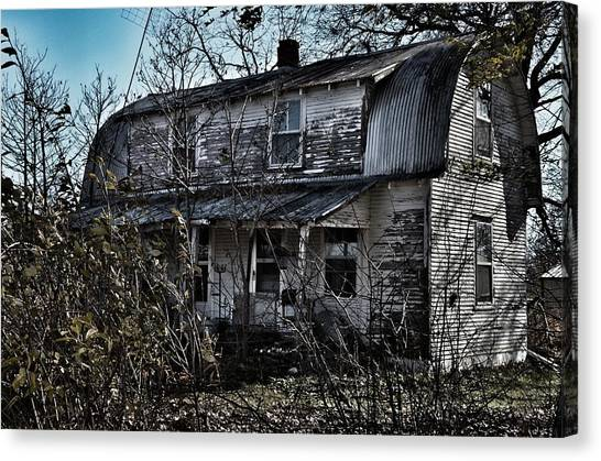 Family Home Canvas Print by Branden Simons