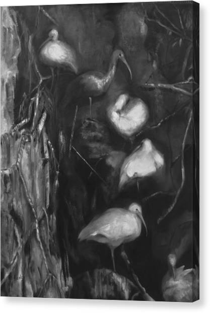 Family Canvas Print by Susan Hanlon
