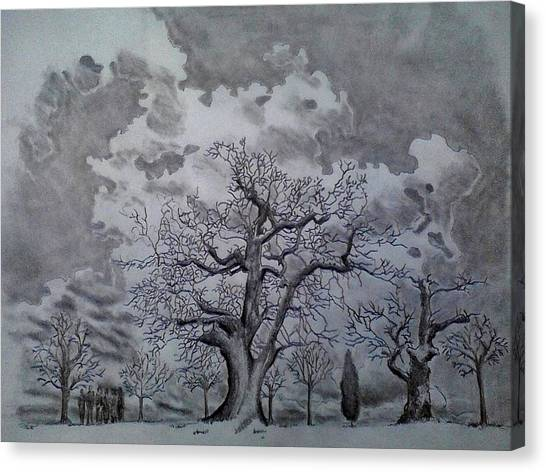 Family Tree Canvas Print by Mark Greenhalgh