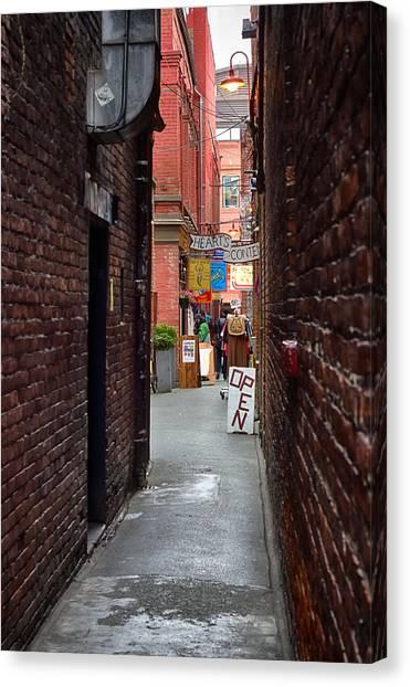 Fan Tan Alley Canvas Print