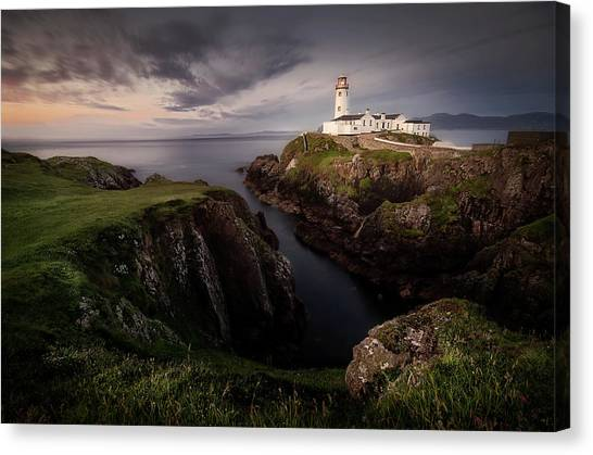 Ireland Canvas Print - Fanad Head by Yolanda Romero Angueira
