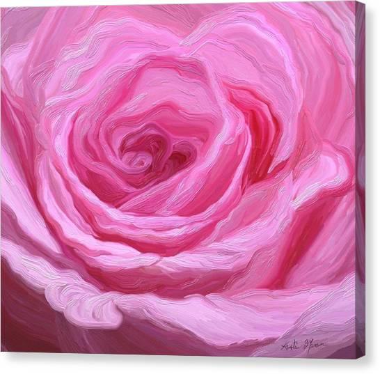 Fanciful Pink Canvas Print
