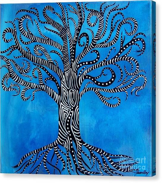 Fantastical Tree Of Life Canvas Print