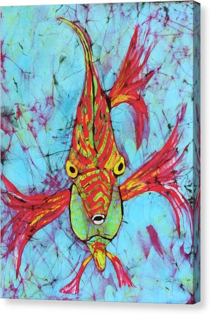 Fantasy Fish Canvas Print