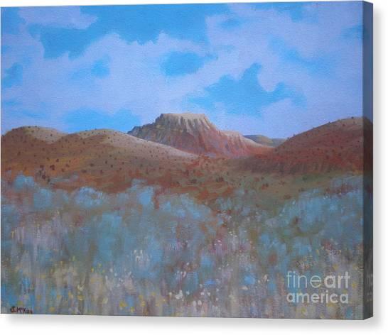 Fantasy Hills Canvas Print