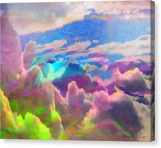 Abstract Fantasy Sky Canvas Print