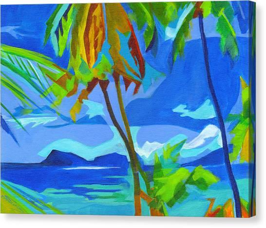 Dream Islands. Maui Canvas Print