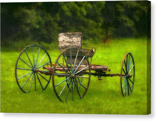 Farm Buggy Canvas Print by Dave Hrusecky