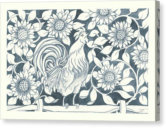 Chicken Farms Canvas Print - Farm Life I by Miranda Thomas