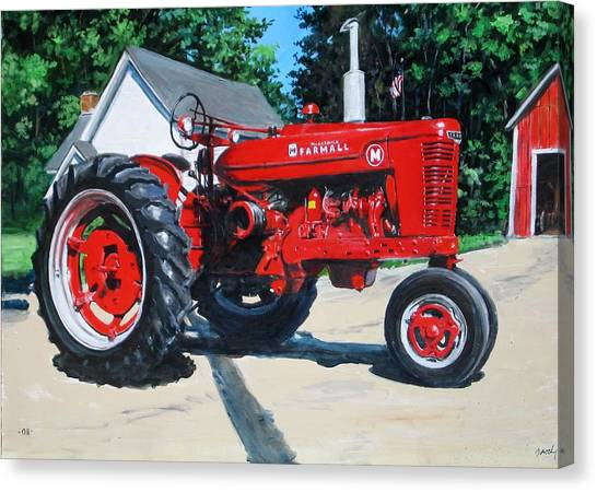 Farmall M Canvas Print