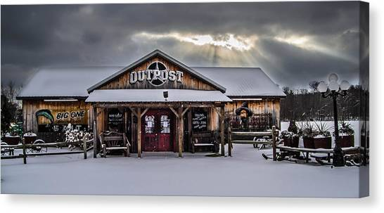 Farmers Inn Outpost Canvas Print