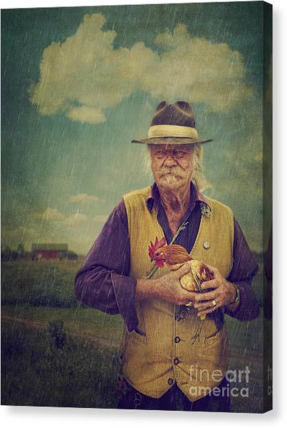 Care Bears Canvas Print - Farmer's Life by Danilo Piccioni