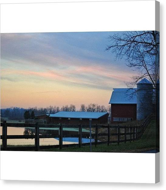 Landscapestyles Canvas Print - Farmhouse by Lock Photography