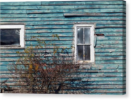 Farmhouse Windows Canvas Print