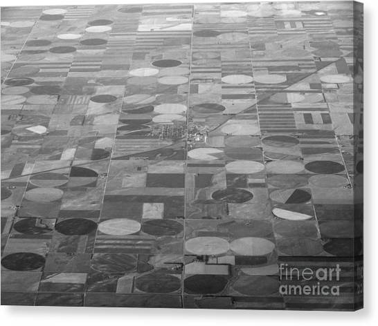 Farming In The Sky Canvas Print