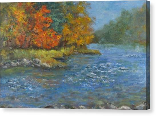 Farmington River Fall Canvas Print