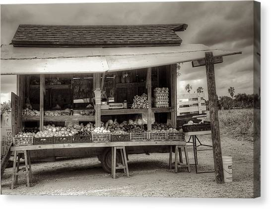 Farmstand Canvas Print