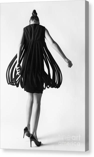 Pierre Cardin Car Wash Dress Canvas Print