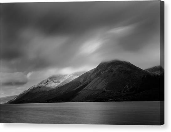 Fast Clouds Over Loch Ness Canvas Print