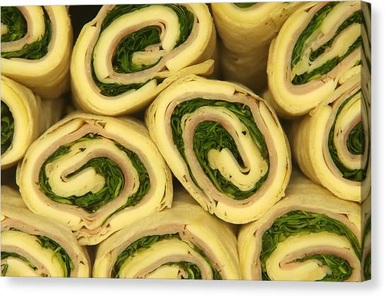 Fast Food Rolls  Canvas Print by Ioan Panaite