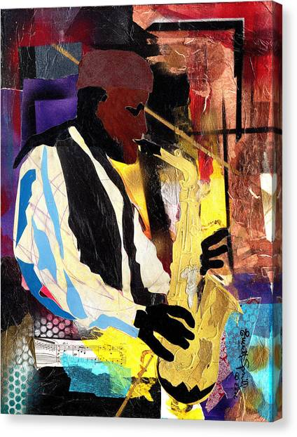 Fathead Newman Canvas Print