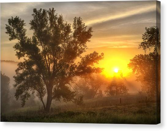 Father's Day Sunrise Canvas Print