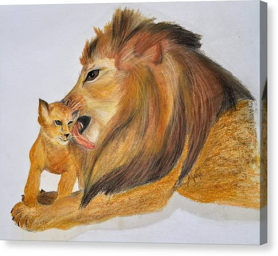 Fathers Love Canvas Print by Danae McKillop