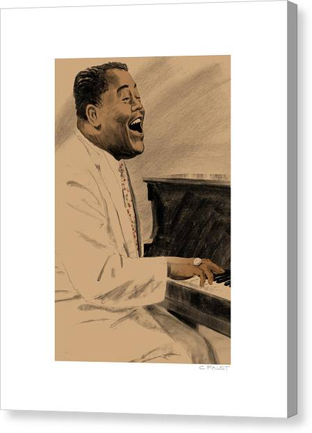 Fats Domino Canvas Print