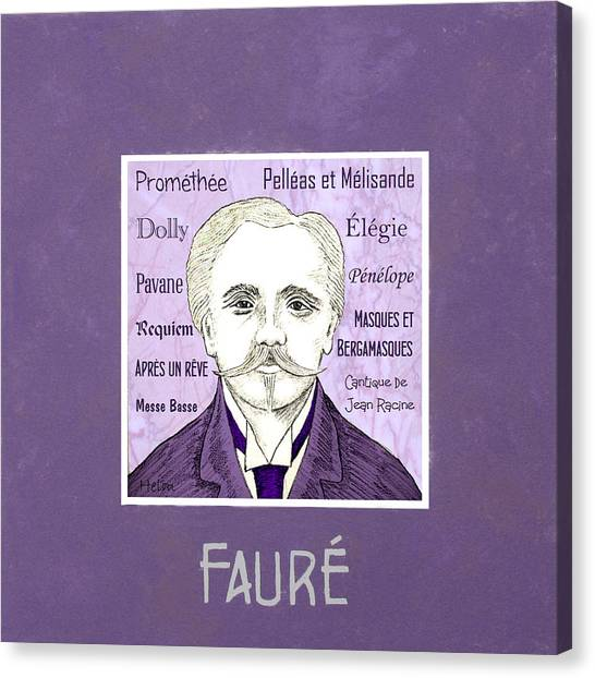 Faure Canvas Print by Paul Helm
