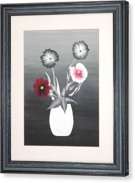 Faux Flowers II Canvas Print