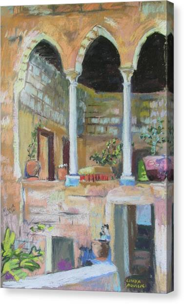 Fauzi Azar Mansion Canvas Print
