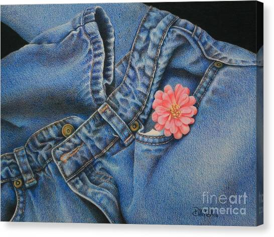 Favorite Jeans Canvas Print