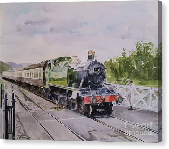 Western Pleasure Canvas Print - Favourite Tank 4160 by Martin Howard
