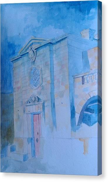 Fawwara Chapel Canvas Print