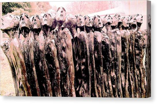 Fearing The Unknown Canvas Print