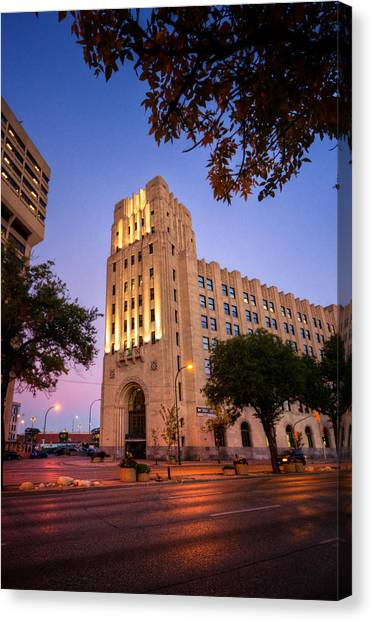 Manitoba Canvas Print - Federal Building by Bryan Scott