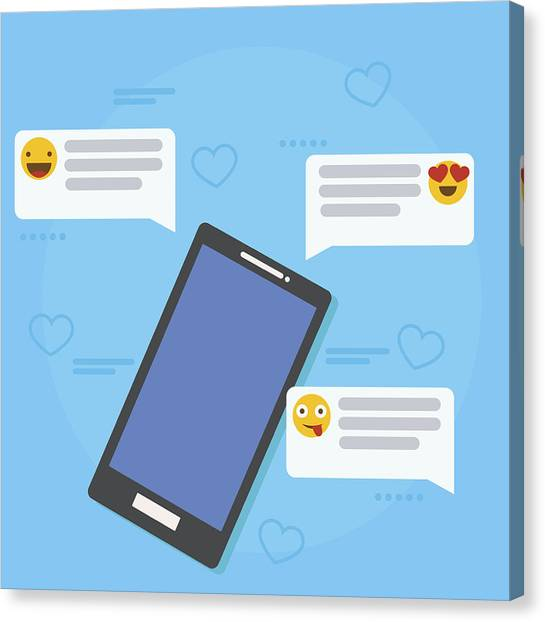 Feedback And Testimonials Banner  Phone With Reviews, Emoticons And  Comments  by Hanna Ferentc