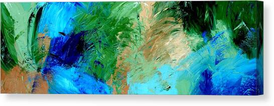 Feel The Tropical Breeze Canvas Print