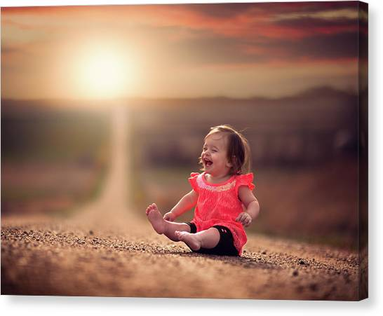 United Way Canvas Print - Feelin Good by Jake Olson