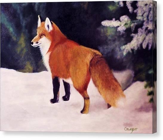 Feeling Foxy Canvas Print