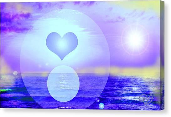 Feeling Heart Canvas Print